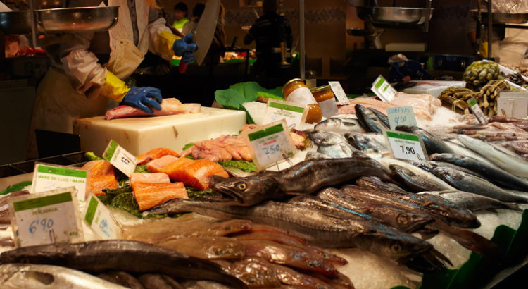 comprar pescado fresco